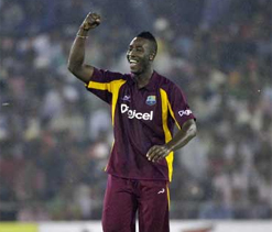 Andre Russell happy to keep