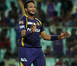 Shakib's all-round effort carries Knight Riders to victory (Roundup)