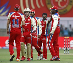 IPL 2012: RCB hope to make up for twin losses