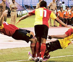 East Bengal beat United Kerala 4-3