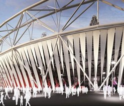 Dow puts its stamp on UK Olympic Stadium