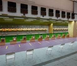 Olympic shooting test event held in London