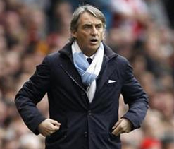 Rules not the same for all in title race: Mancini
