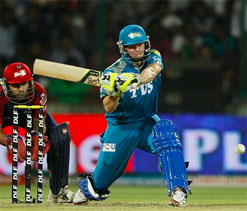 It was a pretty gutsy performance from Sourav: Smith