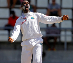 Shillingford shines as Windies on top