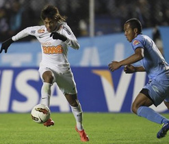 Defending champion Santos lose in Copa Libertadores