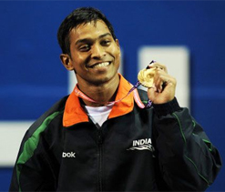 Medal hope Ravi finish 3rd in Asian Weightlifting
