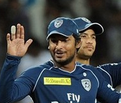 Sangakkara fined for slow over rate