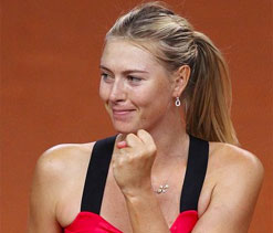 Maria Sharapova clinches Stuttgart title