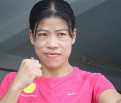 Mary Kom gears up for road to London