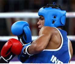 Boxer Vikas Yadav happy to trade bored games for medal