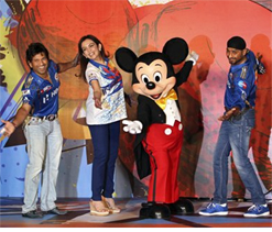 Mumbai Indians launch `Mickey Cricket` merchandise