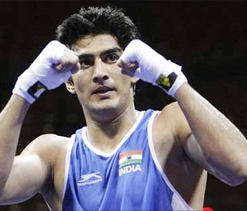 Vijender Singh qualifies for London Olympics, says he`s back