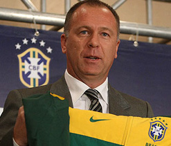 Brazil coach Menezes vows to win 2014 World Cup