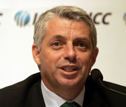 ICC board proposes Richardson for post of Chief Executive