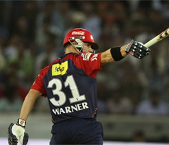 IPL 2012: Warner's brutal ton demolishes Deccan Chargers