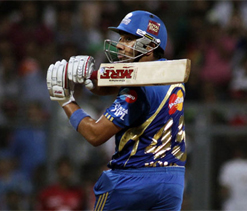 IPL 2012: Brutal Rohit powers Mumbai to 27-run win over KKR