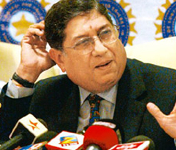 Indian players could play in SLPL: Srinivasan