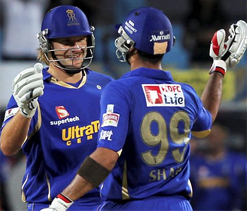 IPL 2012: Rajasthan royals rout hapless Pune by 45 runs