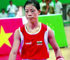 Mary Kom loses in quarters, Olympic berth in fate`s hands