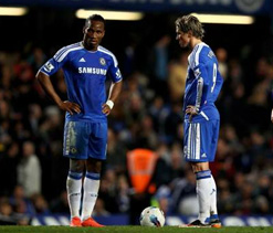 Champions League final: Di Matteo considers pairing Drogba and Torres