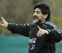 Maradona to become UAE head coach?