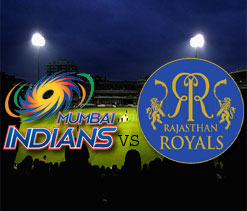 IPL 2012: Rajasthan Royals vs Mumbai Indians -- As it happened