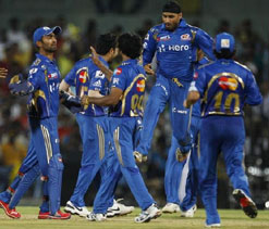 Mumbai Indians fined for slow over rate