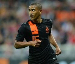 Indian origin Narsingh in Dutch Euro 2012 squad