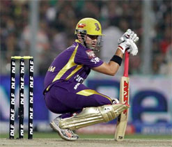 Gambhir`s superstition with pads works for KKR