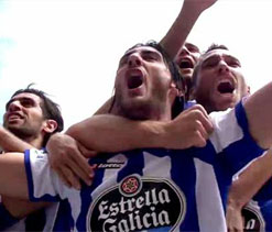 Deportivo return to Spanish top flight