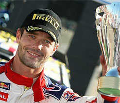 French driver Sebastian Loeb wins Acropolis Rally
