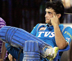 My wicket was crucial but we should have got 121: Ganguly