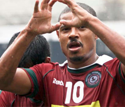Barreto plays his swansong match for Mohun Bagan tomorrow