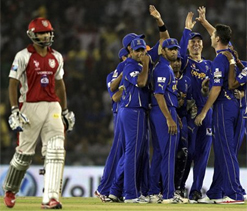 IPL 2012: Statistical highlights -- Kings XI Punjab vs Rajasthan Royals