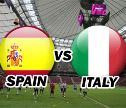 Euro 2012: Spain vs Italy -- As it happened...