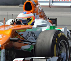 Force India misses out on points at Canadian GP