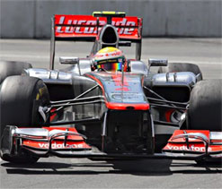 Canadian GP: Lewis Hamilton 7th different winner in 2012