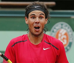 'The shot' which stunned Rafael Nadal!