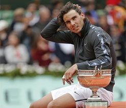 What would the figures be if Rafael Nadal lost French Open final?