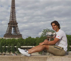 Rafael Nadal maintains his supremacy at Roland Garros
