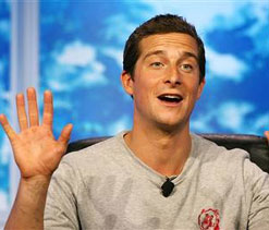 Bear Grylls to become 'personal cheerleader' for Murray during Games