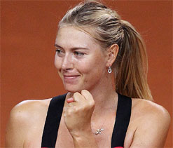 Sharapova could carry Russian flag in Olympics