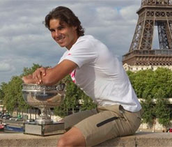 Paris police recover 300,000-euro watch stolen from Nadal