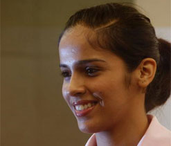 Saina reaches second round in Indonesia Open