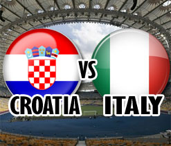 Euro Cup 2012: Italy vs Croatia Live Updates-As it happened