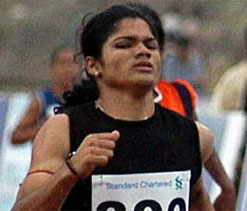 Gold medallist Pinki Pramanik accused of being male, held for `rape`