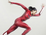 This product illustration released by Nike shows a Turbospeed suit, the official apparel for the USA Track & Field team for the London Summer Olympics. U.S. Olympic track and field athletes will wear the uniforms at the London Olympics.
