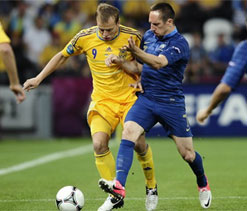 Euro Cup 2012: France vs Ukraine – As it happened…