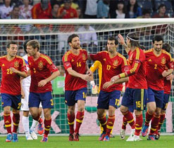Euro 2012: Fatigue and injury problems for Spain